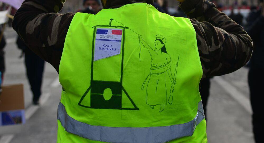 Manifestation des Gilets jaunes à Paris