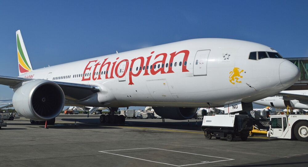 Un Boeing 777 d'Ethiopian Airlines