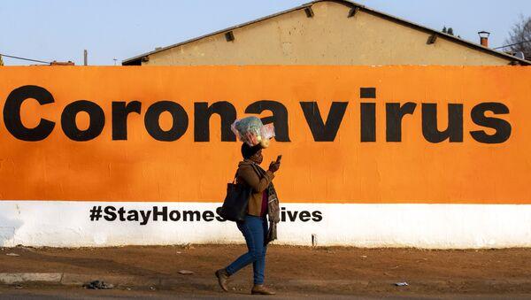 Pandémie du Covid-19 en Afrique du Sud  - Sputnik France