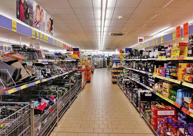 Au supermarché