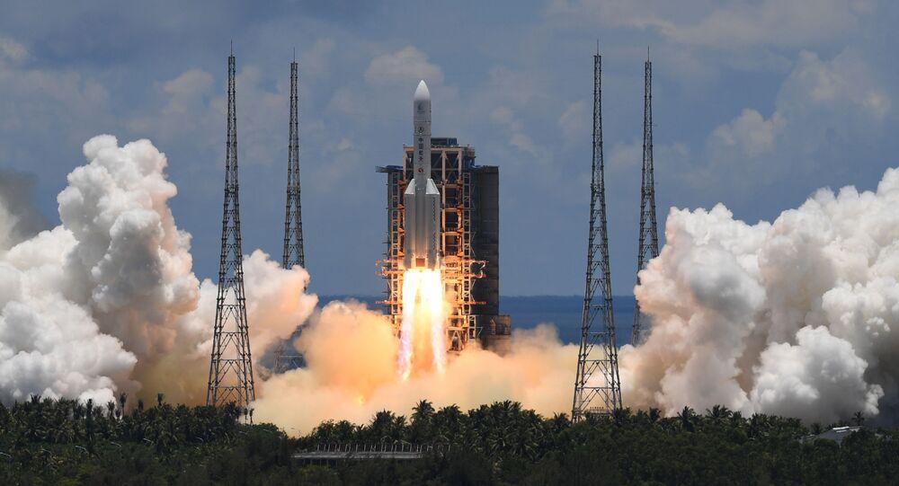 Vidéo: La Chine a lancé une sonde vers Mars