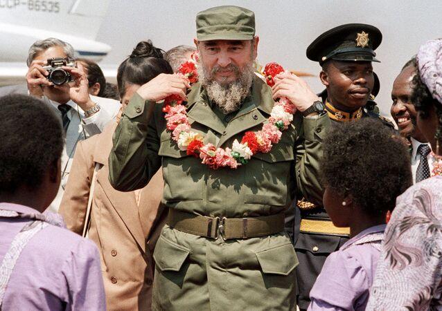 Fidel Castro en Afrique