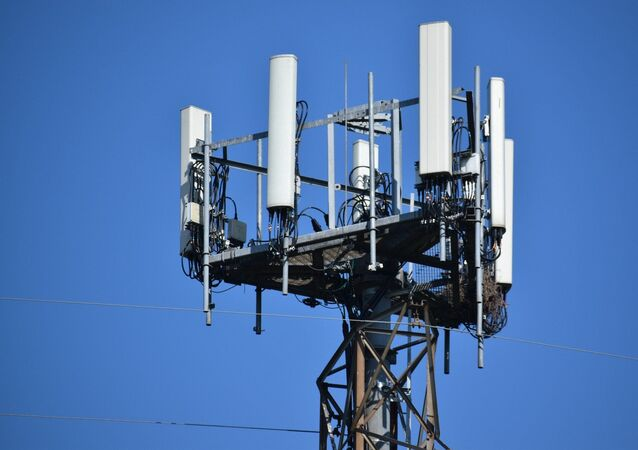 Une antenne-relais 5G