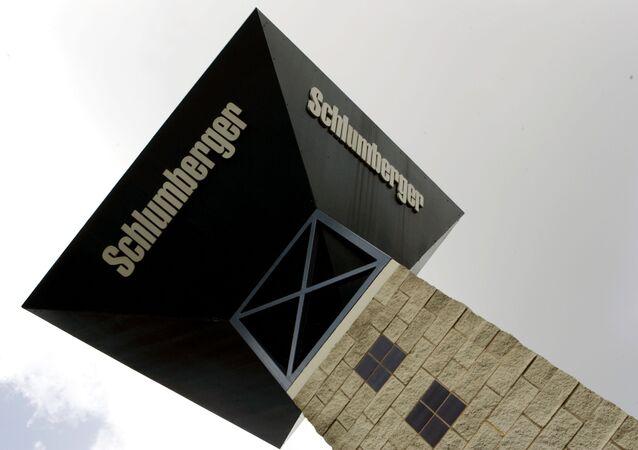 Logo de Schlumberger, archives