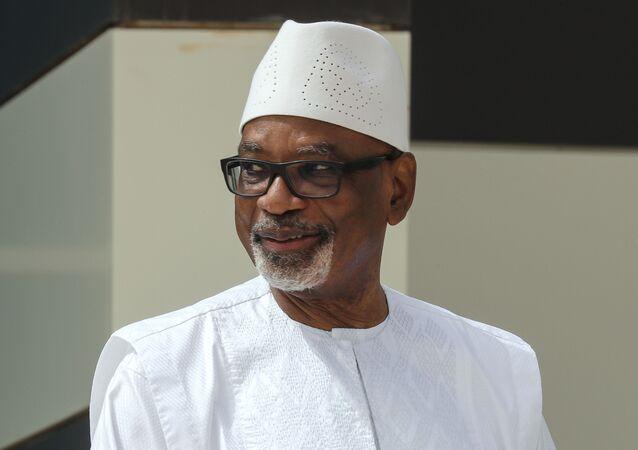 Le Président malien Ibrahim Boubacar Keita