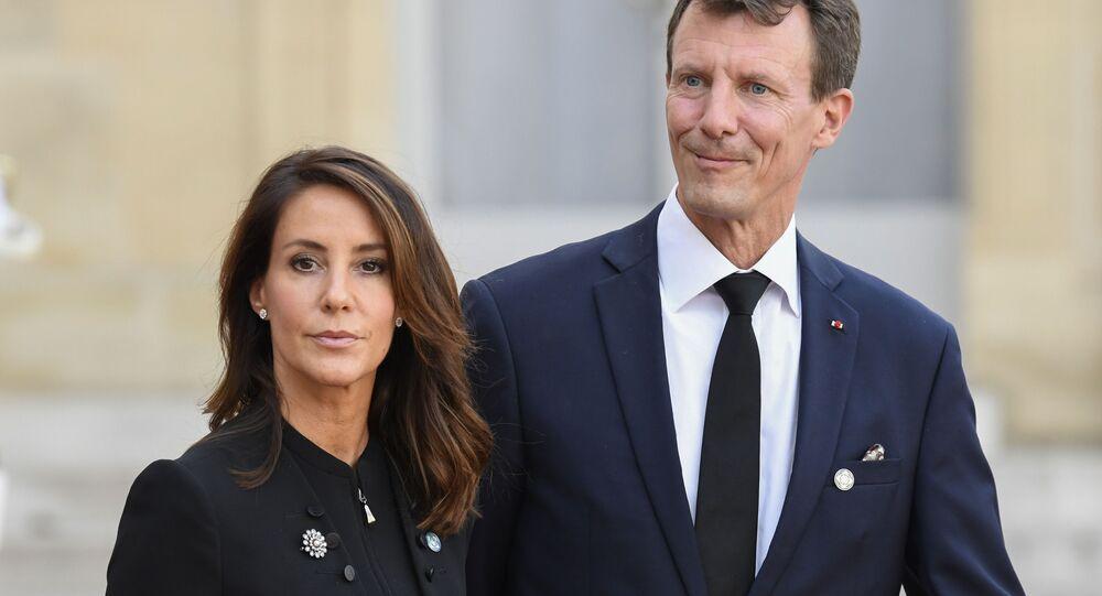 Le prince danois Joachim et princesse Marie de Danemark (photo d'archives)