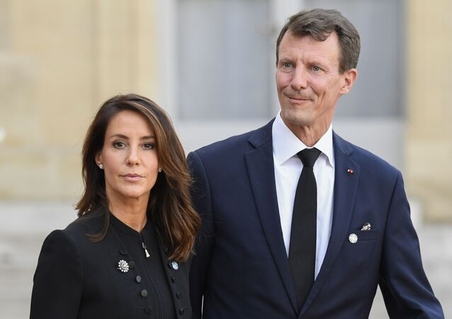 Le prince danois Joachim et princesse Marie de Danemark (photo d'archives)