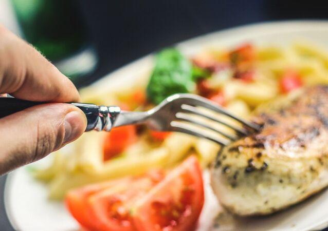 Un repas (image d'illustration)