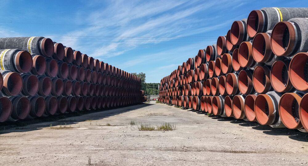Des tuyaux pour le projet Nord Stream 2