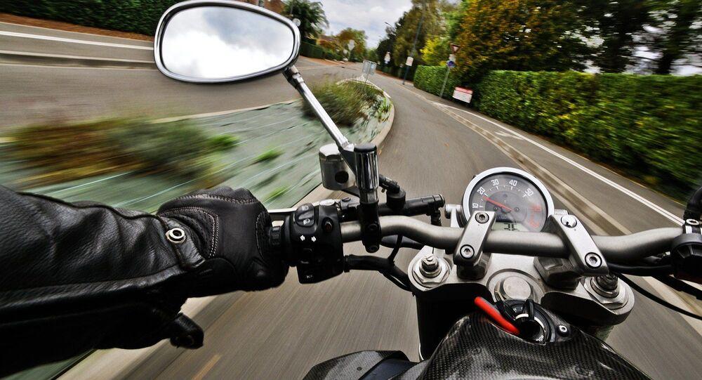 Motocycle, image d'illustration