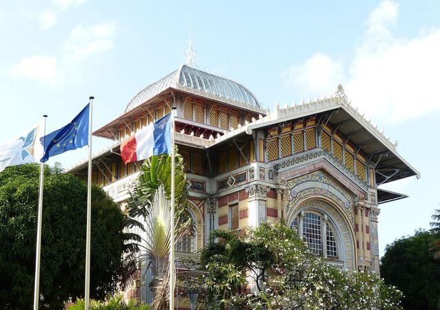 La Bibliothèque Schœlcher,  la bibliothèque publique départementale de la ville de Fort-de-France en Martinique