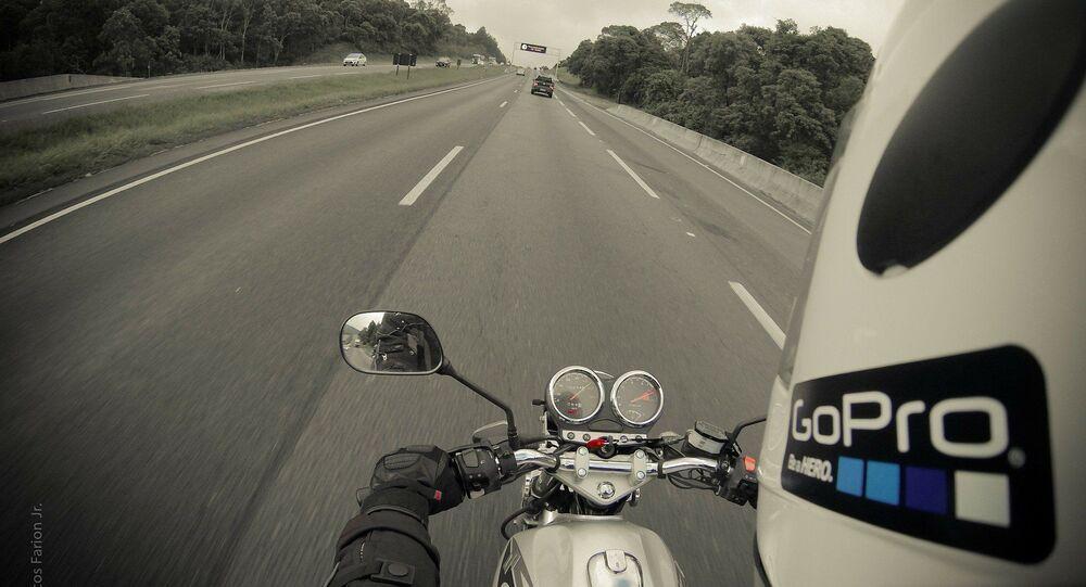 A moto  (image d'illustration)