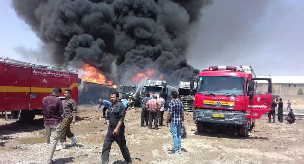 Explosion sur le parking d'un site sensible en Iran, 28 juillet 2020