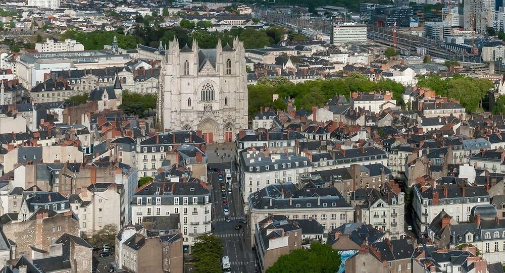 Vue de la ville de Nantes