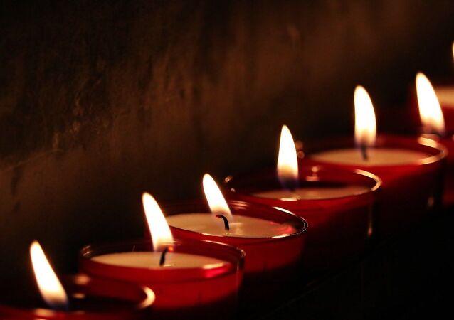 Les bougies. Image d'illustration