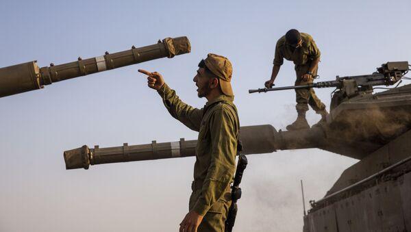 L'armée israélienne dans le Golan - Sputnik France