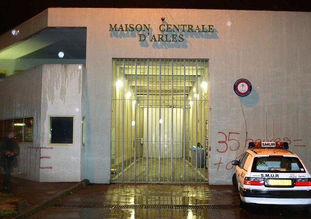 Maison centrale d'Arles (photo d'archives)