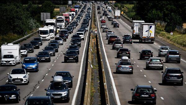 embouteillages en France, image d'illustration - Sputnik France