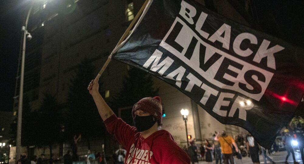 Protestations à Portland