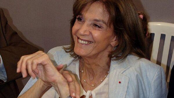 Gisèle Halimi, une avocate franco-tunisienne, militante féministe et essayiste à la Fête de l'Humanité 2008 - Sputnik France