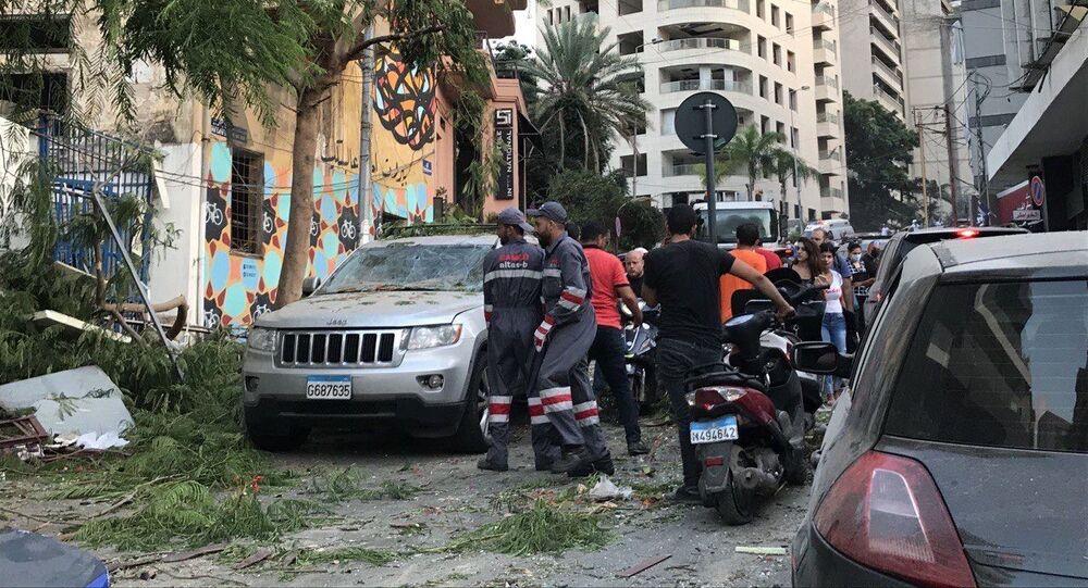 Explosions près du port de Beyrouth, 4 août 2020