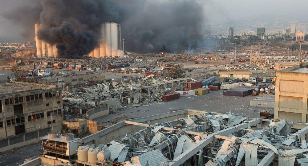 Les explosions de Beyrouth font écho à la catastrophe d'AZF à ...