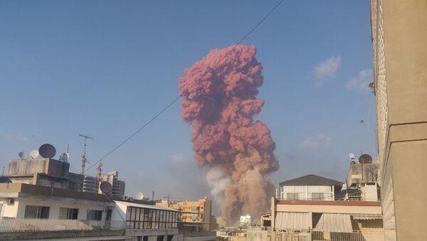 Explosions à Beyrouth, le 4 août 2020 - Sputnik France