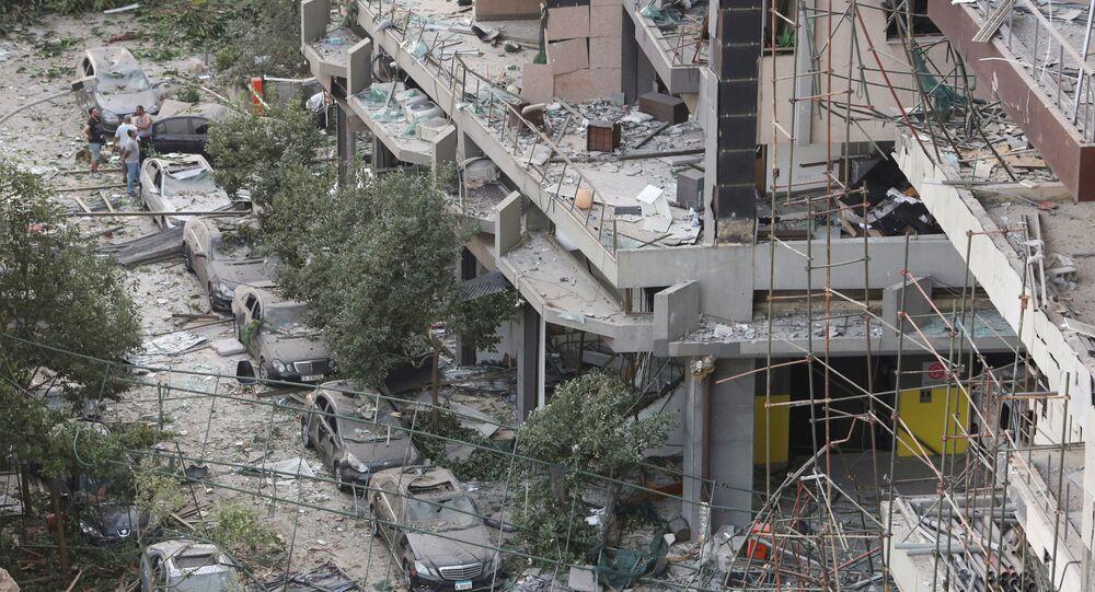 Beyrouth après la double explosion