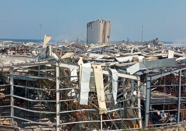 Beyrouth, après l'explosion du 4 août 2020 (archive photo)