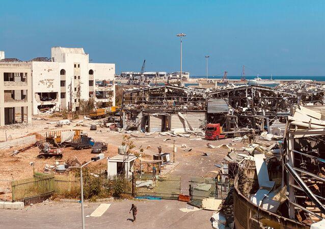 Les conséquences de l'explosion dans le port de Beyrouth, le 4 août