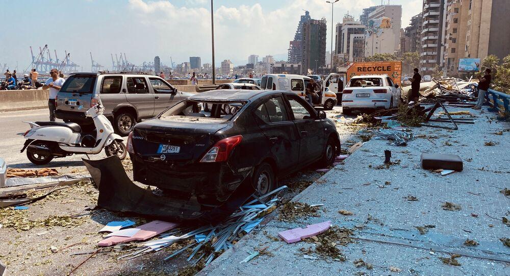 Beyrouth après les explosions, 5 août 2020