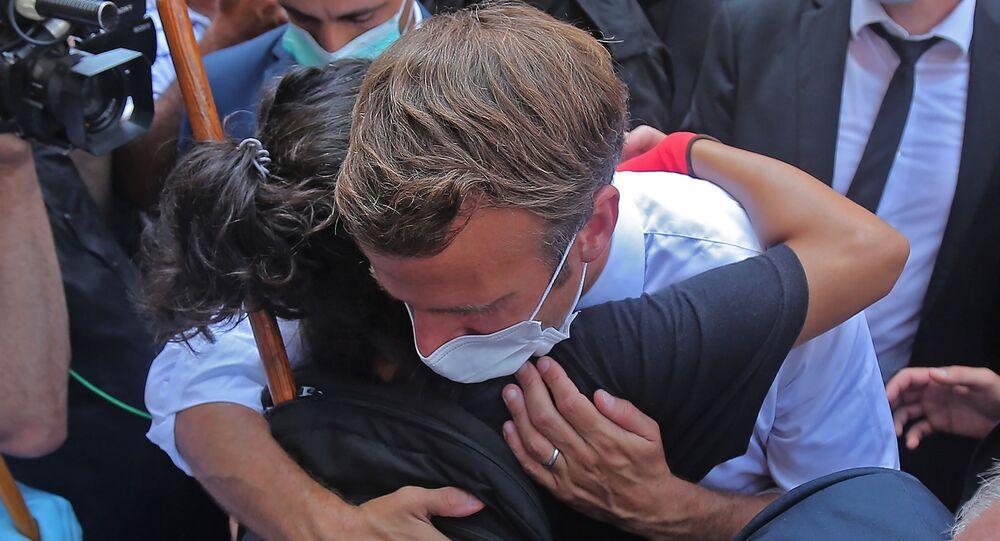 Liban: Macron lance la course à l'aide d'urgence