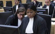 La procureure Fatou Bensouda lors du premier procès de l'ancien Président ivoirien Laurent Gbagbo.