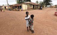 Des enfants togolais