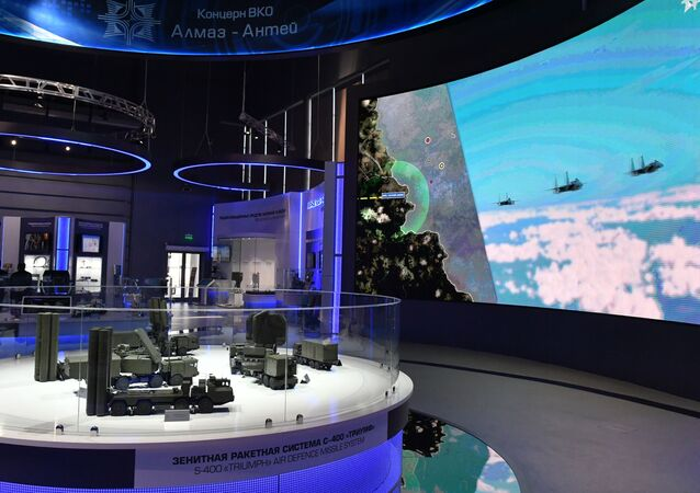 Le stand d'Almaz-Anteï au Forum Armée-2019