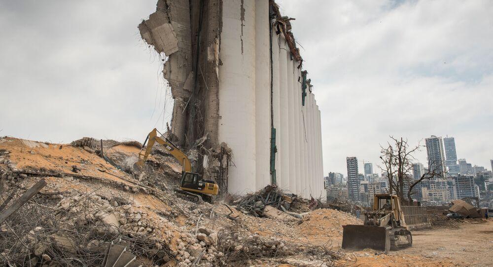 Beyrouth après l'explosion du 4 août 2020