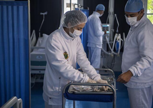 Personnel soignant au Maroc