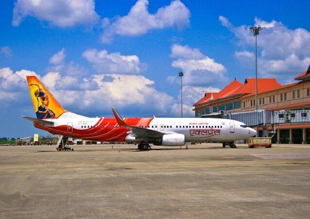 Un Boeing 737-800 d'Air India
