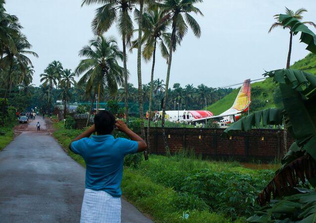 Un Boeing 737 d'Air India