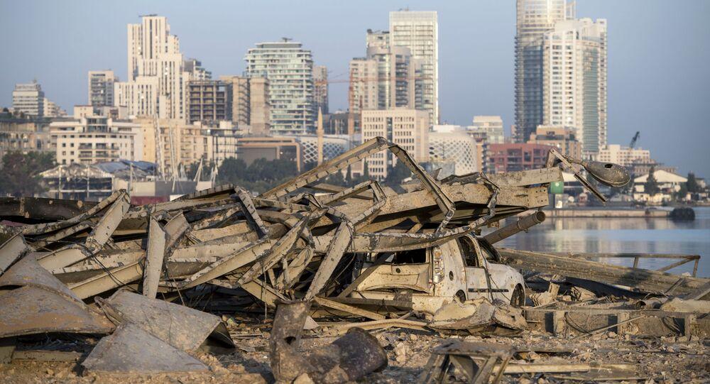 Conséquences de l'explosion dans le port de Beyrouth