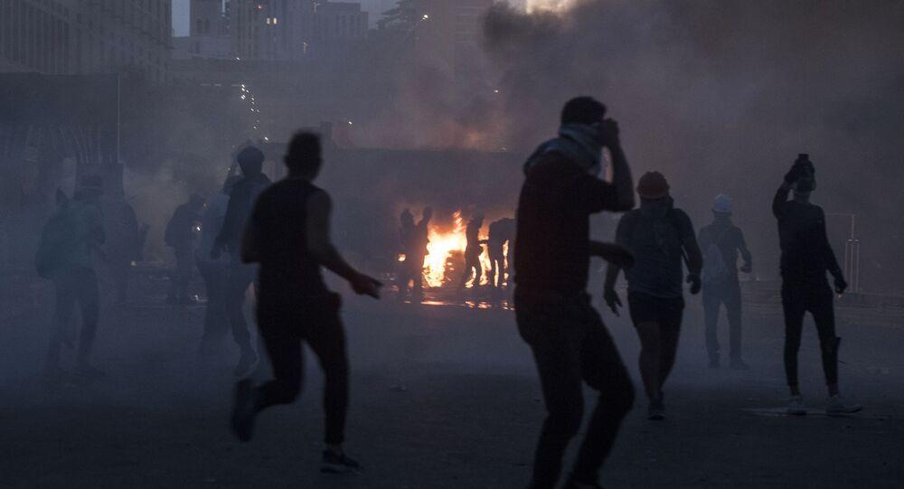 Heurts à Beyrouth, le 8 août 2020