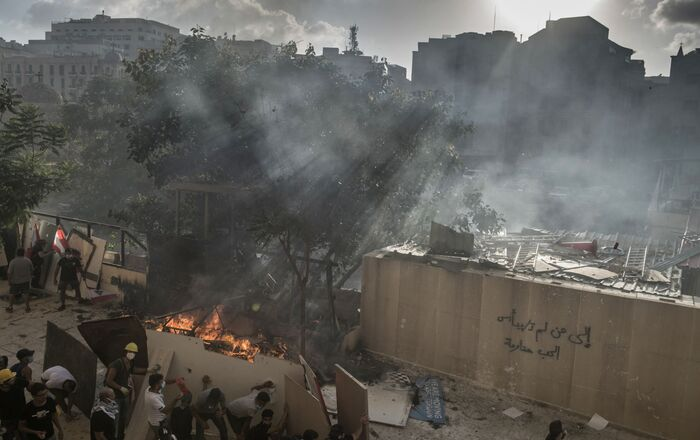 Affrontements au centre de Beyrouth