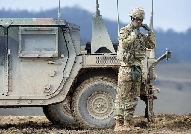 un soldat américain, image d'illustration