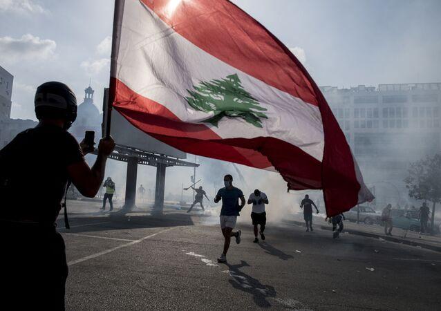 Manifestation du 8 août 2020 à Beyrouth