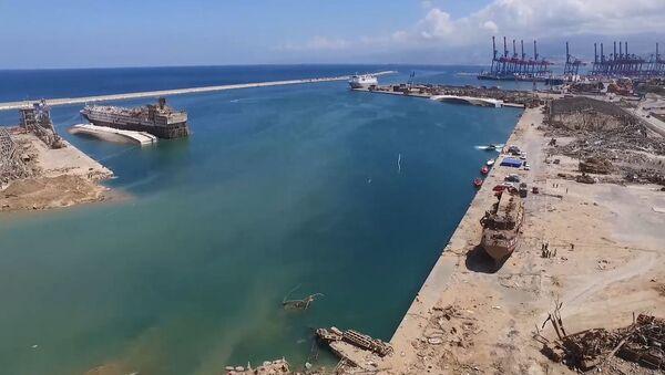 Conséquences de l'explosion du 4 août 2020 à Beyrouth - Sputnik France