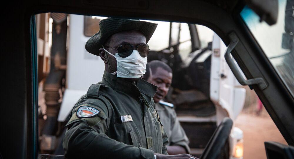 Un policier nigérien (image d'illustration)