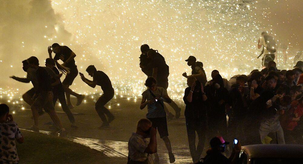 Émeutes à Minsk