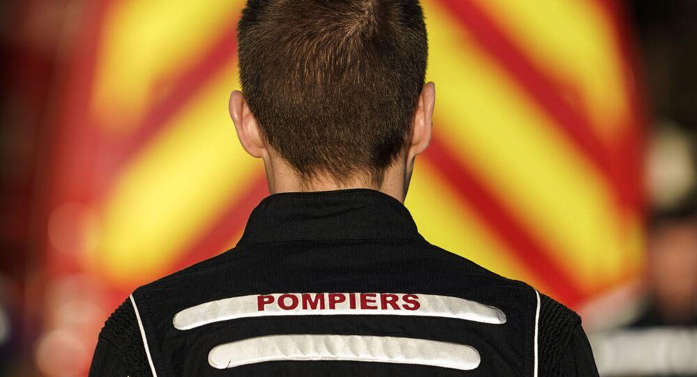 un pompier belge, image d'illustration