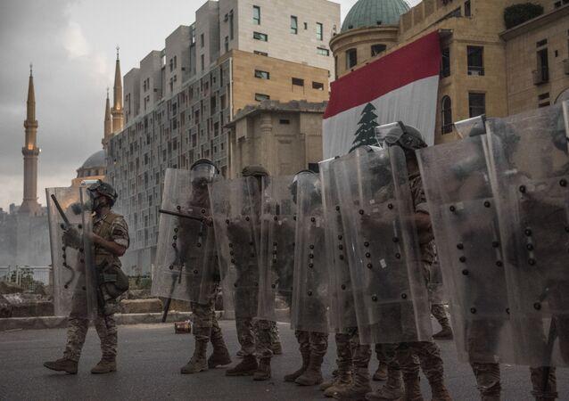 Manifestations à Beyrouth