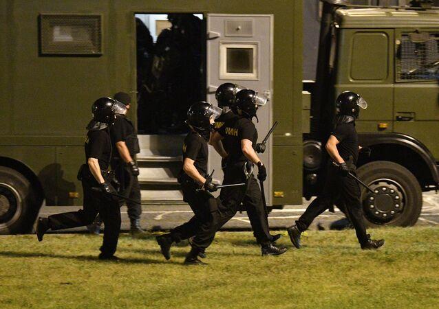 Émeutes du 9 août à Minsk